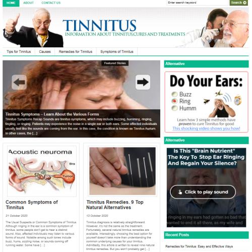 tinnitus blog